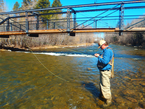 Blue river report 4 14 15 anderson 39 s fish camp for Blue river fishing report