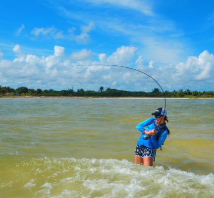 Fly Fishing in Tulum, Mexico